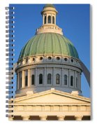 Us, Missouri, St. Louis, Courthouse Spiral Notebook