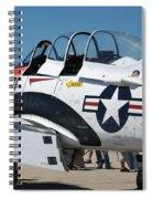 Us Navy Plane 001 Spiral Notebook