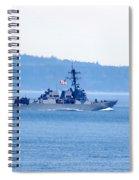U.s. Navy Ship Spiral Notebook