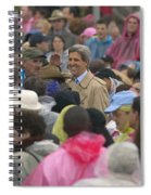 U.s. Senator John Kerry, Amidst Spiral Notebook