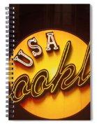 Usa Brooklyn Spiral Notebook