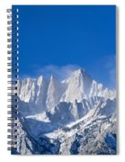 Usa, California, Mount Whitney Spiral Notebook
