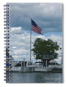 Usa Flag 10 Spiral Notebook