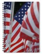 Usa Flags 01 Spiral Notebook