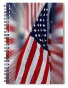 Usa Flags 03 Spiral Notebook