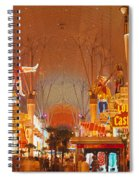 Usa, Nevada, Las Vegas, Night Spiral Notebook