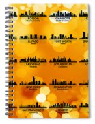 Usa Skylines 3 Spiral Notebook