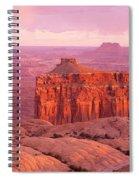 Usa, Utah, Canyonlands National Park Spiral Notebook