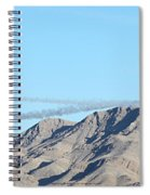 Usaf Thunderbirds Precision Flying Two Spiral Notebook