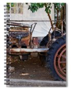 Used Tractor Spiral Notebook