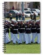 Usmc Silent Drill Platoon Spiral Notebook