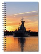 Uss Battleship Spiral Notebook