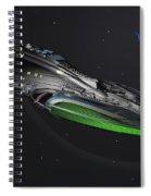 Uss Magellan Spiral Notebook