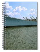 Uss New Jersey Spiral Notebook