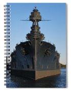 Uss Texas Bow Spiral Notebook