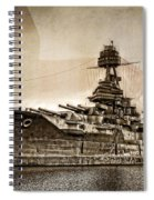 U.s.s. Texas Spiral Notebook