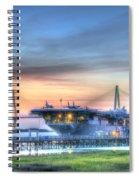 Uss Yorktown Spiral Notebook