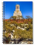 Ut Tower Spiral Notebook