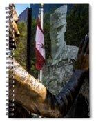 Utah Freedom Memorial Spiral Notebook