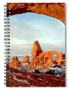 Utah Golden Arches Spiral Notebook