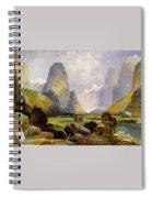 Utah Mountains Spiral Notebook