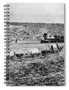Utah Railroad, 1869 Spiral Notebook