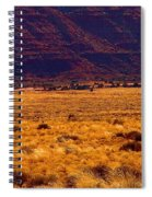 Utah Winter Sun Spiral Notebook