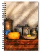 Utensils - Kitchen Still Life Spiral Notebook
