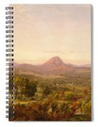 Autumn Landscape Sugar Loaf Mountain. Orange County  New York Spiral Notebook