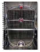 V 16 Cadillac Spiral Notebook