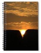 V Rise Spiral Notebook