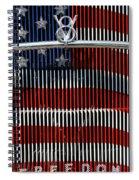 V8 Freedom Spiral Notebook