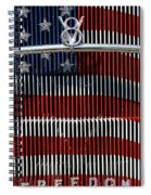 V8 Freedom Spiral Notebook