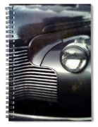 V8 Grill In Gray Spiral Notebook