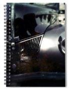 V8 Grill Spiral Notebook
