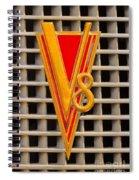 V8 Lasalle Spiral Notebook