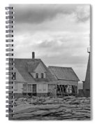 Vacant On The Ocean Spiral Notebook