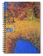 Vacationing On A Painting Spiral Notebook