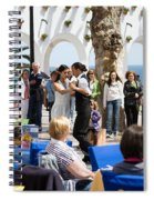 Vacations In Nerja On Costa Del Sol Spiral Notebook
