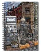 Vacuum Tubes And Diodes - Wallace Idaho Spiral Notebook