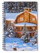 Vail Chalet Spiral Notebook