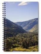Vail In Summer Spiral Notebook