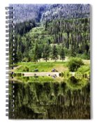 Vail Reflections 3 Spiral Notebook