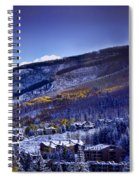 Vail Sunrise Spiral Notebook