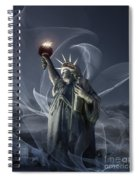 Light Of Liberty Spiral Notebook