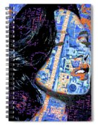 Vain Portrait Of A Woman Spiral Notebook