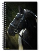 Val Headshot Spiral Notebook
