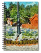 Valby Square Spiral Notebook