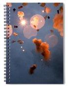 Valencian Beach Mascleta Spiral Notebook