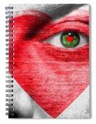 Valenteye Spiral Notebook